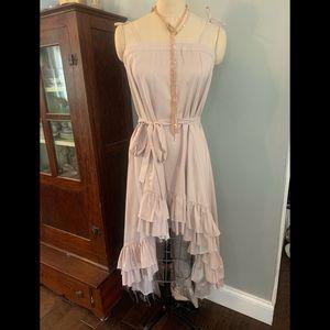 Venus Hi-Lo Ruffle Dress sz Medium